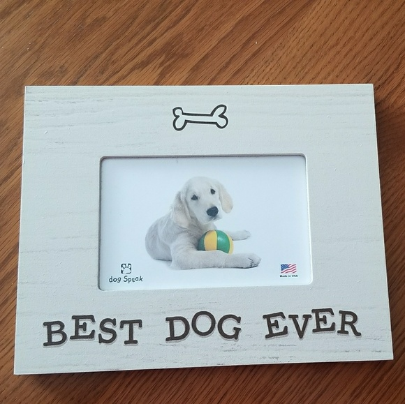 Other Nwot Best Dog Ever Frame 4x6 Poshmark
